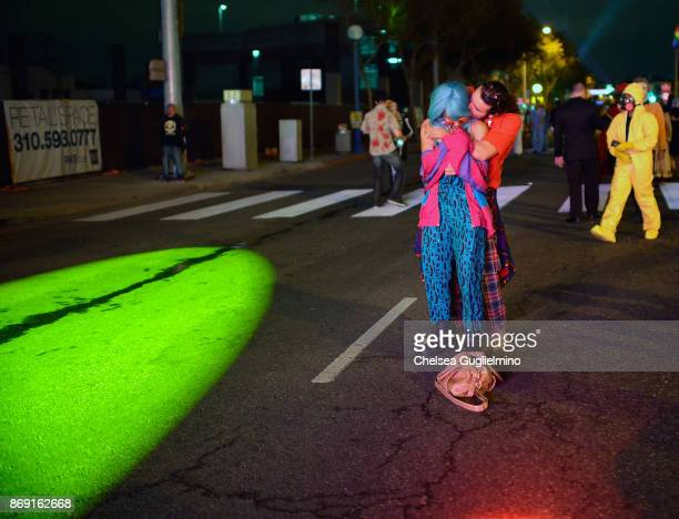 Participants attend the West Hollywood Halloween Carnaval on October 31 2017 in West Hollywood California