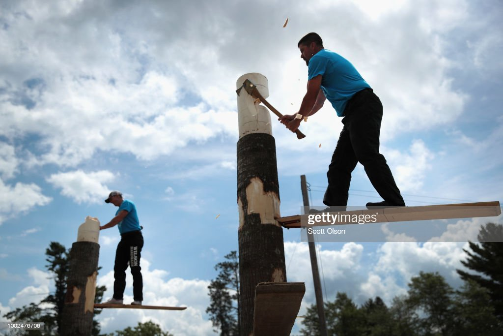 Lumberjack World Championships Held In Wisconsin