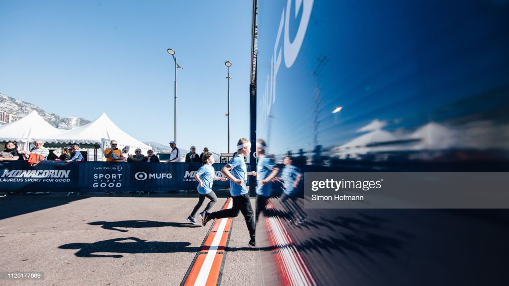 MCO: 1000m Sport for Good Run - 2019 Laureus World Sports Awards - Monaco