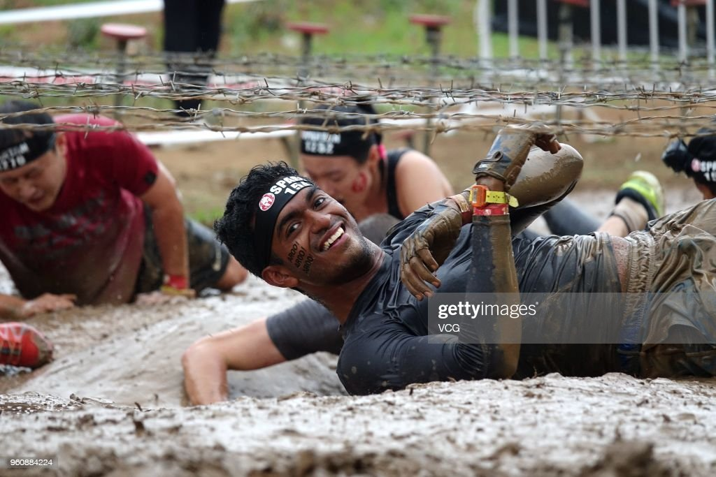 The 2018  Infiniti Spartan Race Held In Beijing
