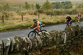 bolton england participants compete cycle leg