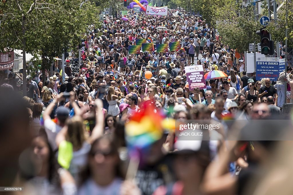 ISRAEL-GAY-PRIDE-PARADE : News Photo