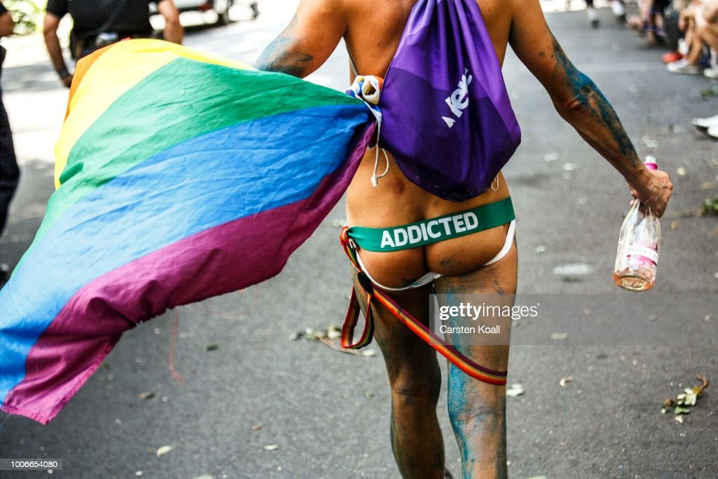 Christopher Street Day In Berlin : News Photo