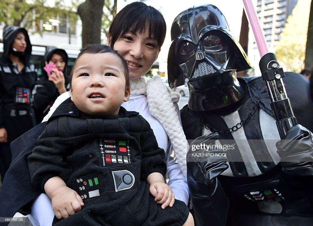 JAPAN-LIFESTYLE-HALLOWEEN : News Photo