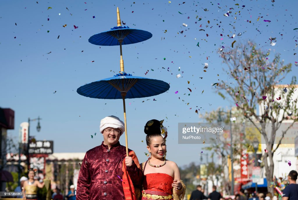 Chinese Lunar New Year Celebration in Los Angeles