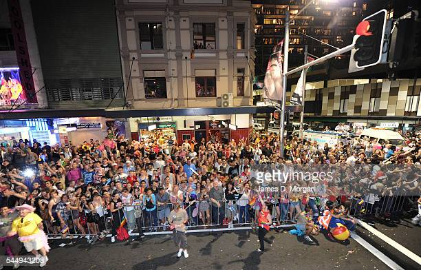 Participants in the annual Gay and Lesbian Mardi Gras on February 27 2010 in Sydney Australia The 2010 Mardi Gras took place on the streets of Sydney...