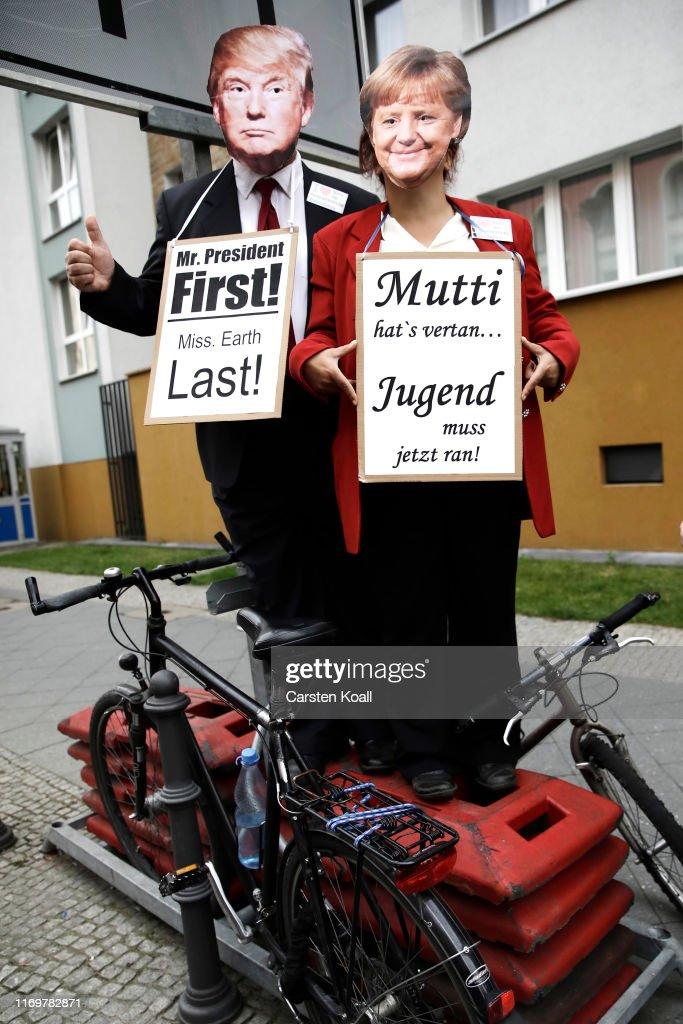 Global Climate Strike: Berlin : News Photo