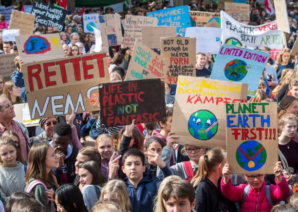 DEU: Global Climate Strike: Frankfurt