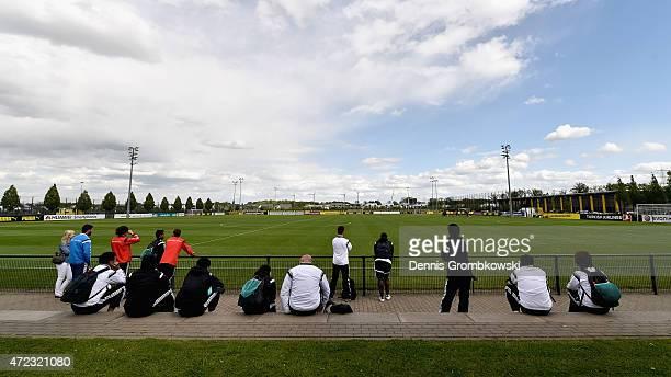 Participants of the DFB International Coaching and Technichal Development Course visit Borussia Dortmund Youth Department at Borussia Dortmund...