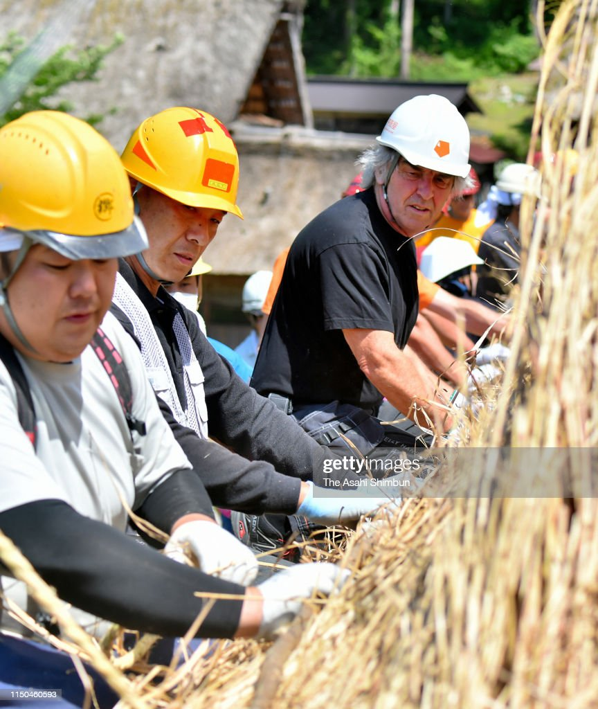 JPN: Re-Thatching Workshop At World Heritage Shirakawa-Go