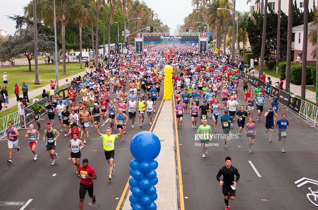 Rock 'n' Roll Marathon San Diego : ニュース写真