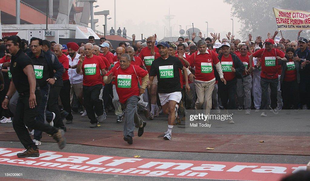 Airtel Delhi Half Marathon : News Photo