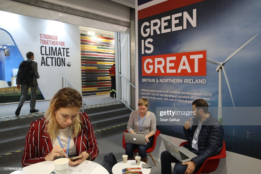 Participants Sit At The Britain And Northern Ireland Pavilion At The News Photo Getty Images