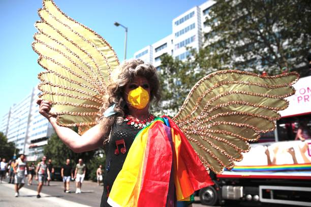 DEU: Christopher Street Day Annual LGBT Pride Event