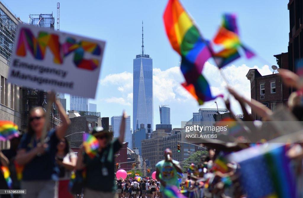 US-GAY-RIGHTS-GENDER : News Photo