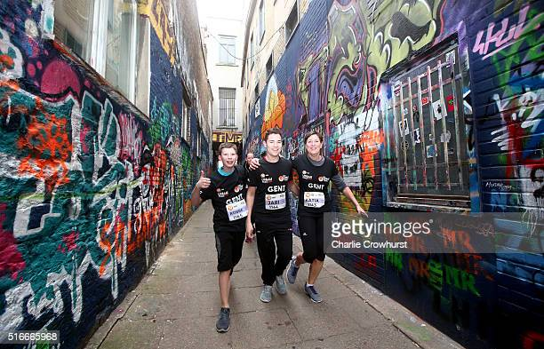 Participants take part in the Urban Trail a running event revolving around a special course which lets the runner experience places and buildings...