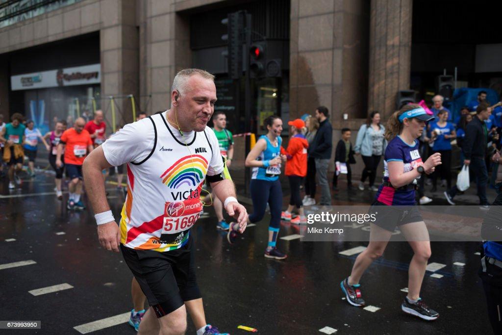 London Marathon : News Photo