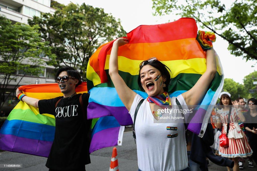Tokyo Rainbow Pride Parade 2019 : News Photo