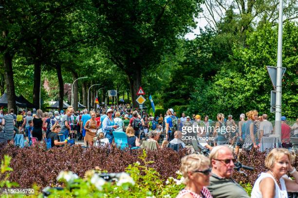 Participants walk in the city during the third day. Since it is the worlds biggest multi-day walking event, the Four Days March is seen as the prime...