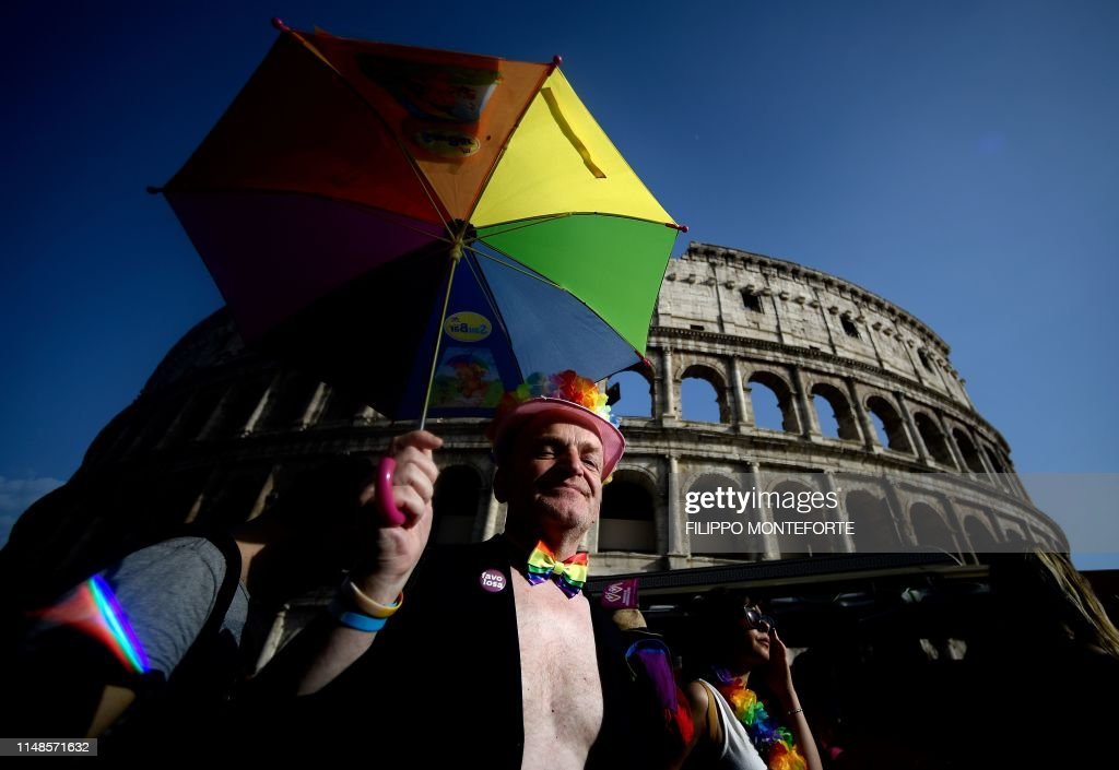 ITALY-GAYPRIDE : News Photo