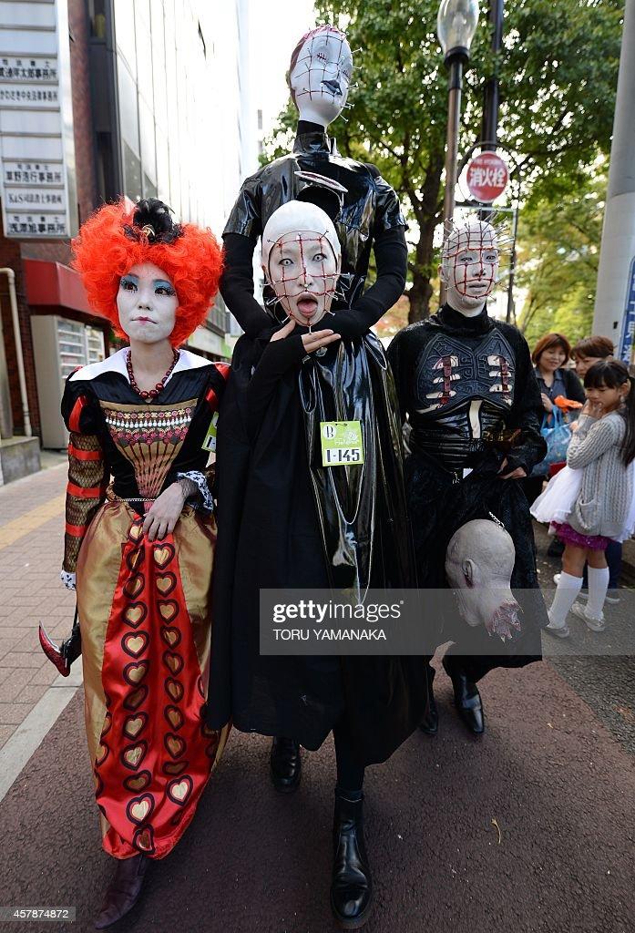 JAPAN-CULTURE-HALLOWEEN : News Photo