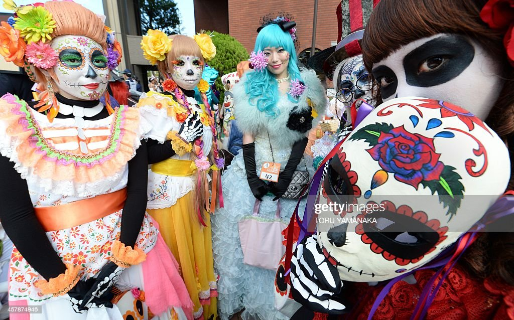 JAPAN-CULTURE-HALLOWEEN : News Photo