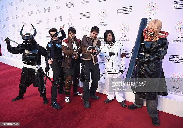 Participates of the Cosplay competition on the Red Carpet for the movie 'The Tale of Princess Kaguya' during Family Weekend on Day 5 of the second...