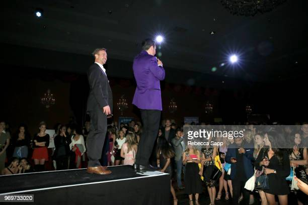 Participating Bachelor attends Babes for Boobs Live Auction Benefiting Susan G Komen LA at El Rey Theatre on June 7 2018 in Los Angeles California