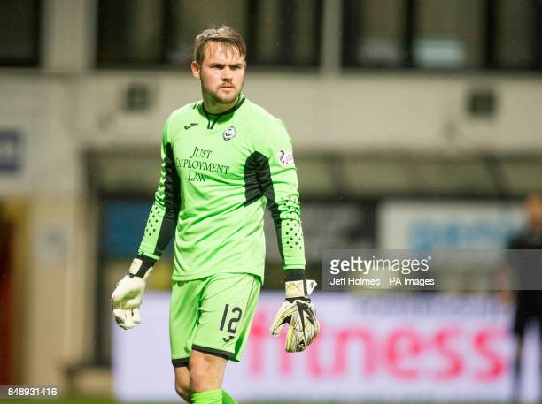 Partick Thistle goalkeeper Ryan Scully