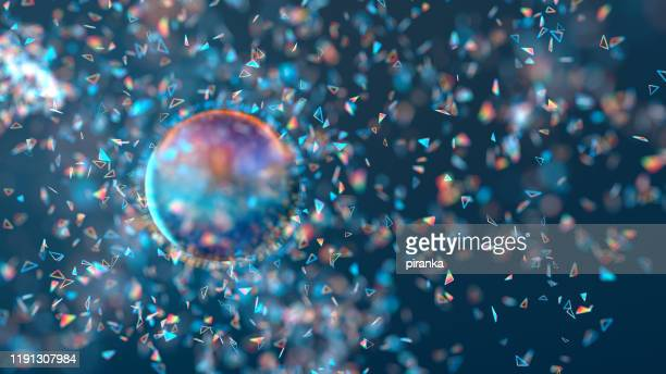 particle explosion - hd stock pictures, royalty-free photos & images