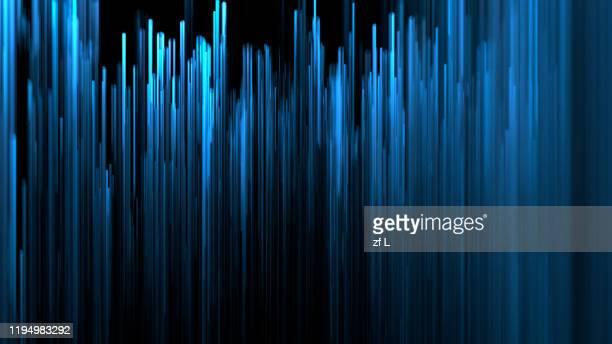 向外擴展的粒子線條 - lineart stock-fotos und bilder