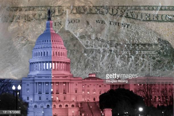 partisan politics & pay freeze - partisan politics stock pictures, royalty-free photos & images