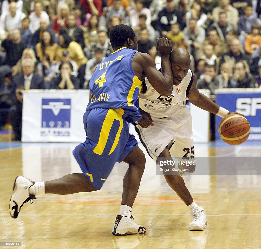 Euroleague Basketball - KK Partizan vs Maccabi Elite Tel Aviv - November 2, 2006