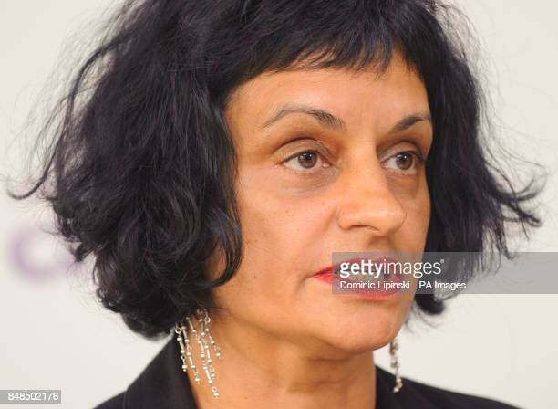 Partner at law firm Bindmans LLP Saimo Chahal reads a statement at a press conference in central London following the death of Tony Nicklinson the...