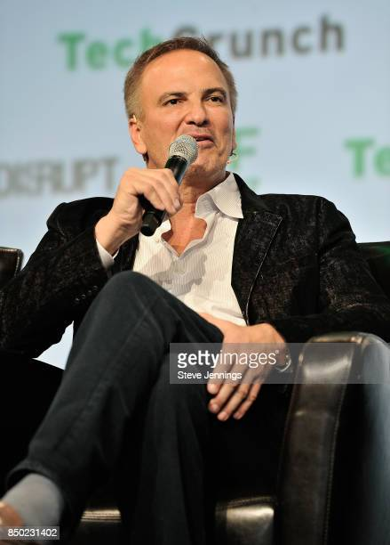Partner at Vision Venture Partners Stratton Sclavos speaks onstage during TechCrunch Disrupt SF 2017 at Pier 48 on September 20 2017 in San Francisco...