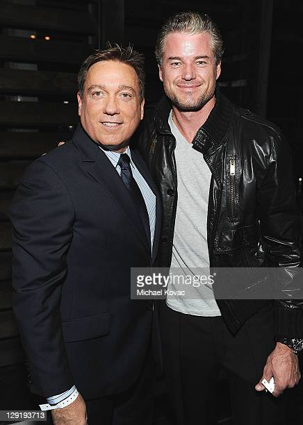 Partner Kevin Huvane and actor Eric Dane attend CAA's Young Hollywood Party benefiting Communities In Schools at The Colony on October 13 2011 in Los...