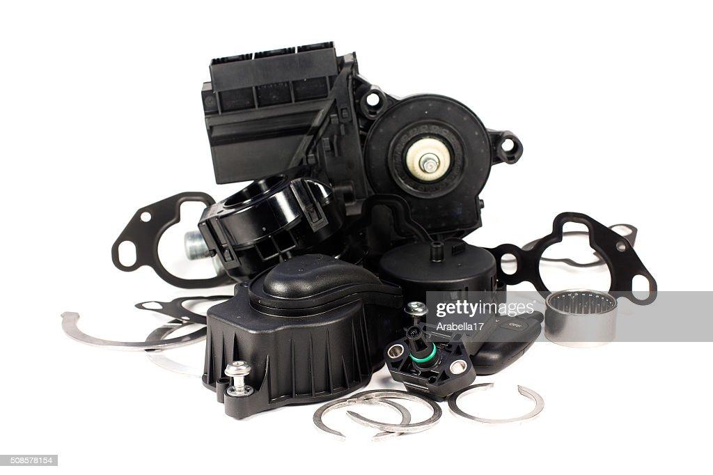 Teile für Autos. : Stock-Foto