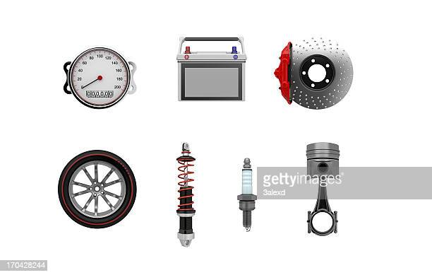 parts of car - piston stock pictures, royalty-free photos & images