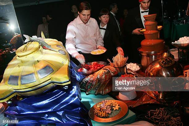 "Party ambiance at ""The Life Aquatic With Steve Zissou"" premiere after party at Roseland Ballroom December 9, 2004 in New York City."
