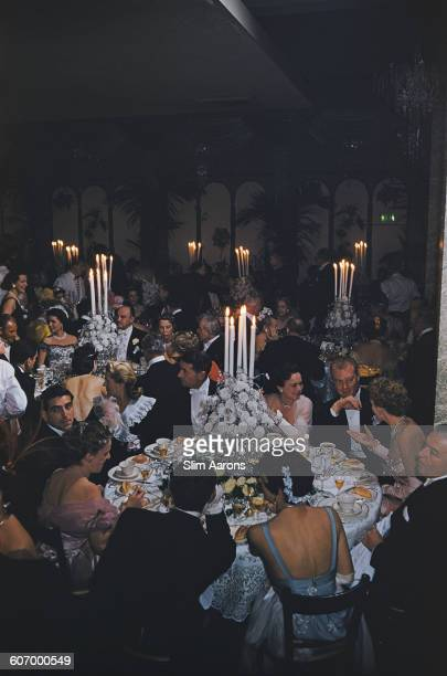A party at Romanoff's in Beverly Hills Los Angeles 1959