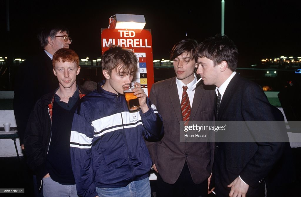 Party At Walthamstow Dog Track, London, Britain - 1994 : News Photo