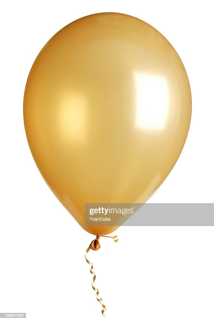 party balloon isolated on white : Stock Photo