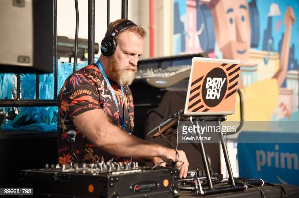Party Ben performs onstage at the Amazon Music Unboxing Prime Day event on July 11 2018 in Brooklyn New York