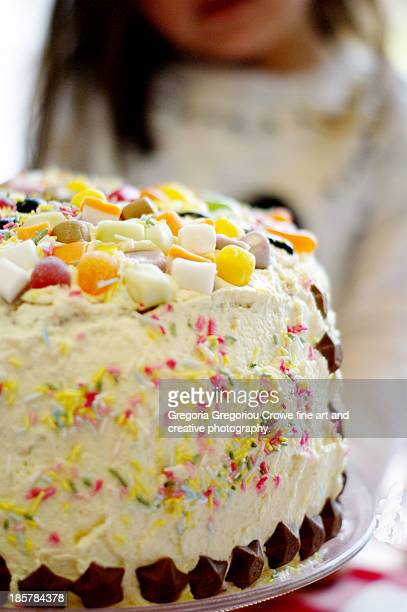 party cake - gregoria gregoriou crowe fine art and creative photography. stock pictures, royalty-free photos & images