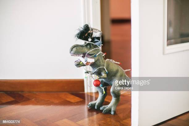 party christmas dinosaur toy