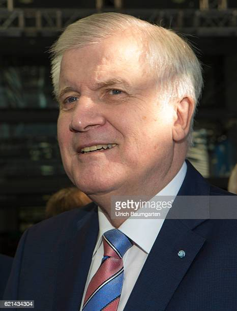 Party conference of the Christian Social Union in Munich Horst Seehofer Bavarian Prime Minister