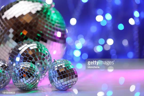 Party Dekoration mit disco-Bälle