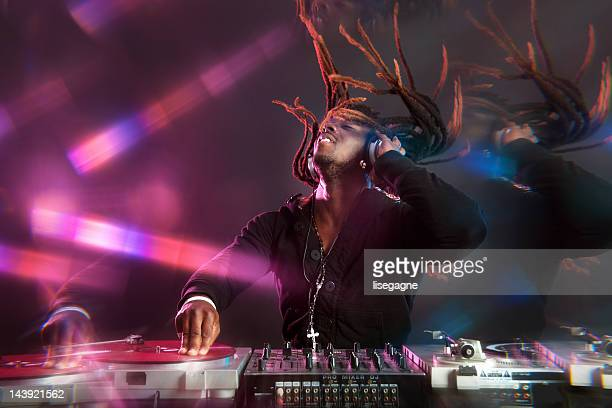 party dj - dreadlocks stock pictures, royalty-free photos & images
