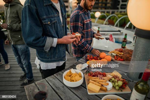 Party Food with Friends
