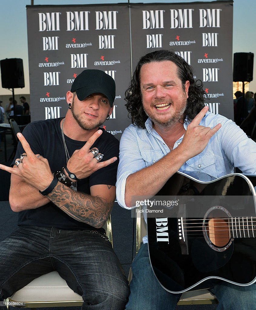 Party For Singer/Co-Writer Brantley Gilbert and Co-Writer Jim McCormick for 'You Don't Know Her Like I Do' At BMI Nashville on August 22, 2012 in Nashville, Tennessee.